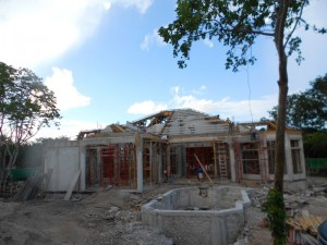 mexican style house plans being built MX