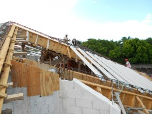 residential design under construction in mexico