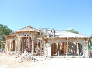 mexican style house plans being built yucatan