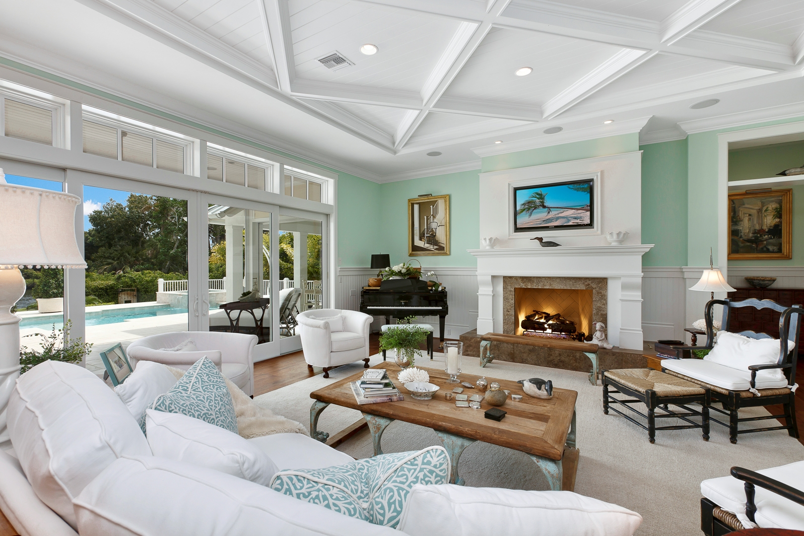West Indies Home In Naples Florida