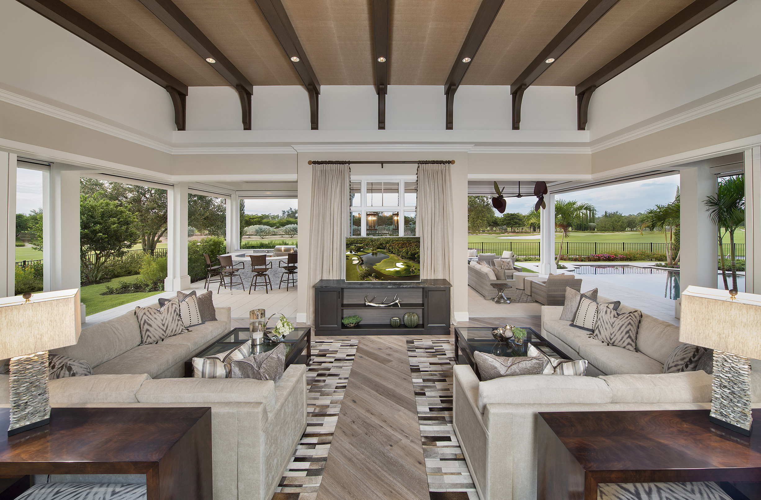 Outdoor Car Storage >> Naples Architect Designs Golf Magazine Dream Home Plan ...
