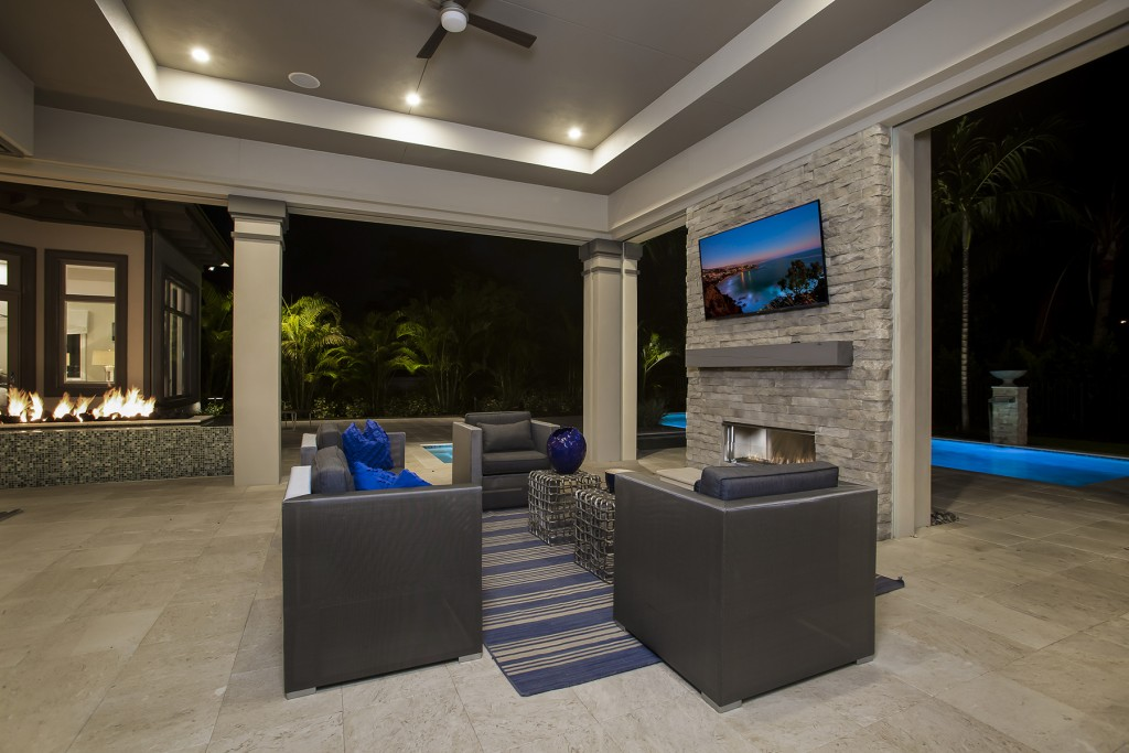 Naples architect home design contemporary style with for Weber design