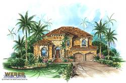 Mediterranean Floor Plan | Mirador Floor Plan