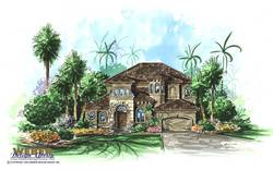 Rio Vista Home Plan-Mediterranean House Plans