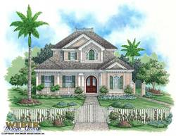 Florida Floor Plan - Key West House Plan