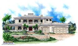 Emerald Bay House Plan-Olde Florida Home Plans