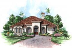 Mediterranean Floor Plan | Bimini Floor Plan