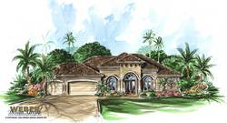 Tuscan Floor Plan | Cortona Home Plan