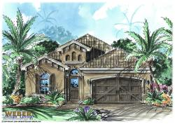 Narrow Lot Floor Plan - Arabella Home Plan