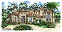 Eldorado House Plan-Mediterranean House Plans