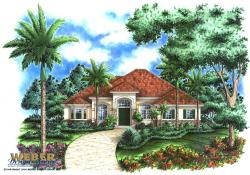Lantana House Plan-Florida House Plans