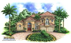 Santa Cruz Home Plan-Mediterranean House Plans