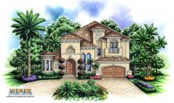 Tuscan Floor Plan | Aurora House Plan