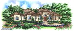 Royal Marco Home Plan-Pool House Plans