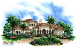 Ixora III Home Plan-Mediterranean House Plans