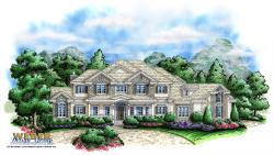 Foxborough Hill Home Plan-Three Story House Plans
