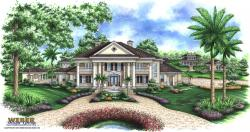 Georgian Floor Plan - Alexandria House Plan