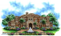 Cantrell II Home Plan-Mediterranean House Plans