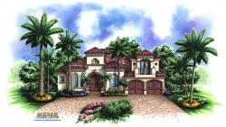 Murano II House Plan-Mediterranean House Plans