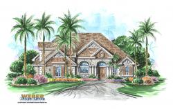 French Colonial Floor Plan | Sonebridge Floor Plan