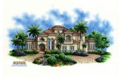 La Playa IV Home Plan-Mediterranean House Plans