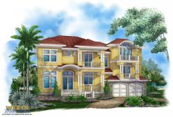 caribbean floor plan - By The C House Plan