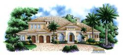 Monterro II House Plan-Mediterranean House Plans