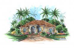 Mediterranean Floor Plan| Villa Verano Home Plan