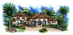 Mandalena House Plan-Mediterranean House Plans