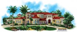 Mediterranean Floor Plan - Villagio Toscana House
