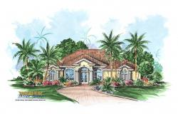 Caribbean Floor Plan - Serafina House Plan