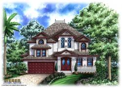 Dalton House Plan-Olde Florida Home Plans