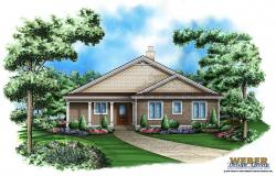 Hickory Oaks Home Plan-Pool House Plans