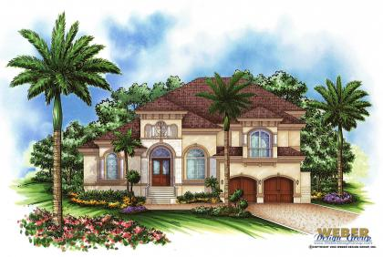 Mediterranean House Plan - Morocco II Home Plan