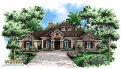 French Country Floor Plan | Verdelais Floor Plan