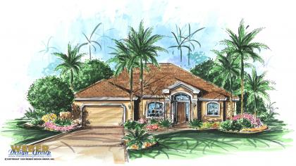 Contemporary House Plan | Casa Del Amore Home Plan