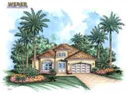 Sugar Loaf Model-Florida House Plans