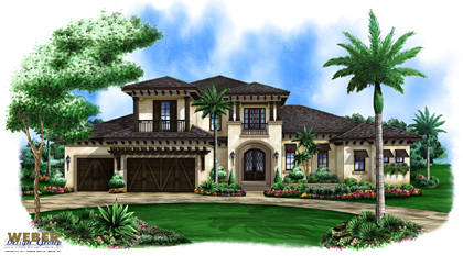 Coastal House Plan Mustique House Plan Weber Design Group