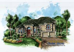 Calloway Home Plan-Tuscan Style House Plans