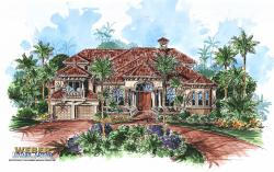 Montego Bay Home Plan-Mediterranean House Plans