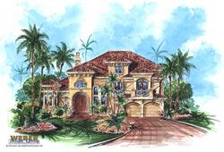 La Playa House Plan-Mediterranean House Plans