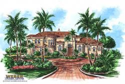 Mediterranean Floor Plan | Gardenia Floor Plan