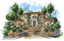 Tuscan Floor Plan | Tuscany House Plan