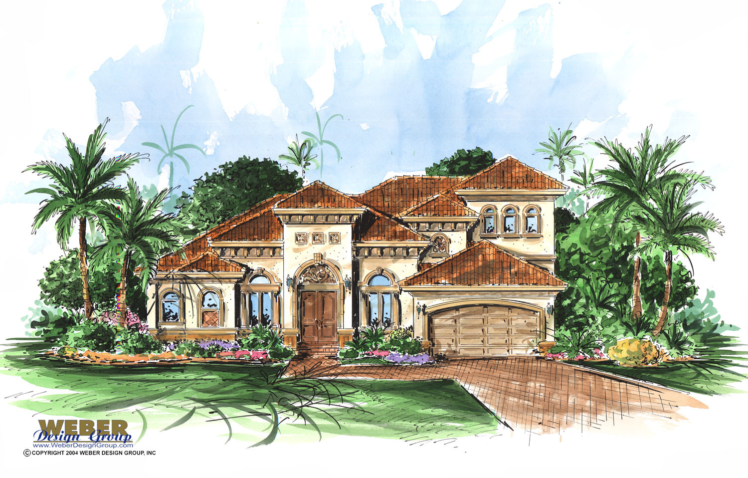 San gabriel home plan weber design group for Weber house plans