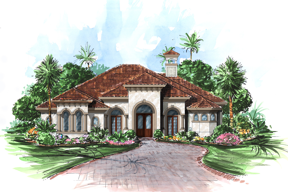 Caribbean house plan bimini house plan weber design group for Caribbean house designs