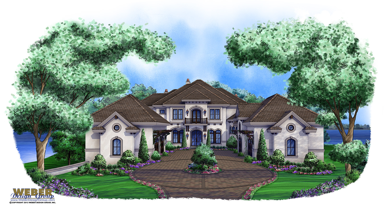 Tuscan House Plan Isla Del Rey House Plan Weber Design