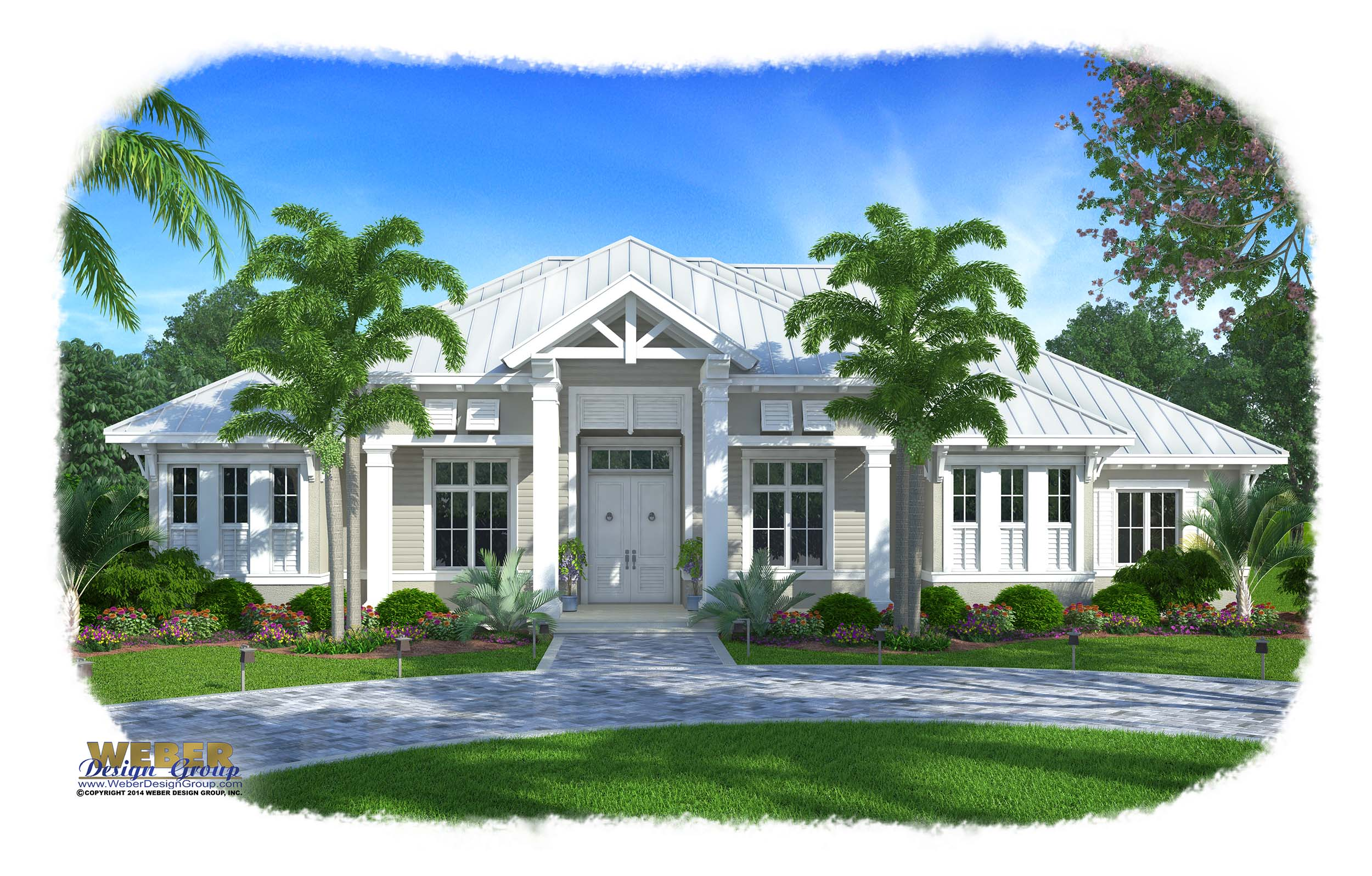 Caribbean house plans barbados house design plans for Caribbean house plans