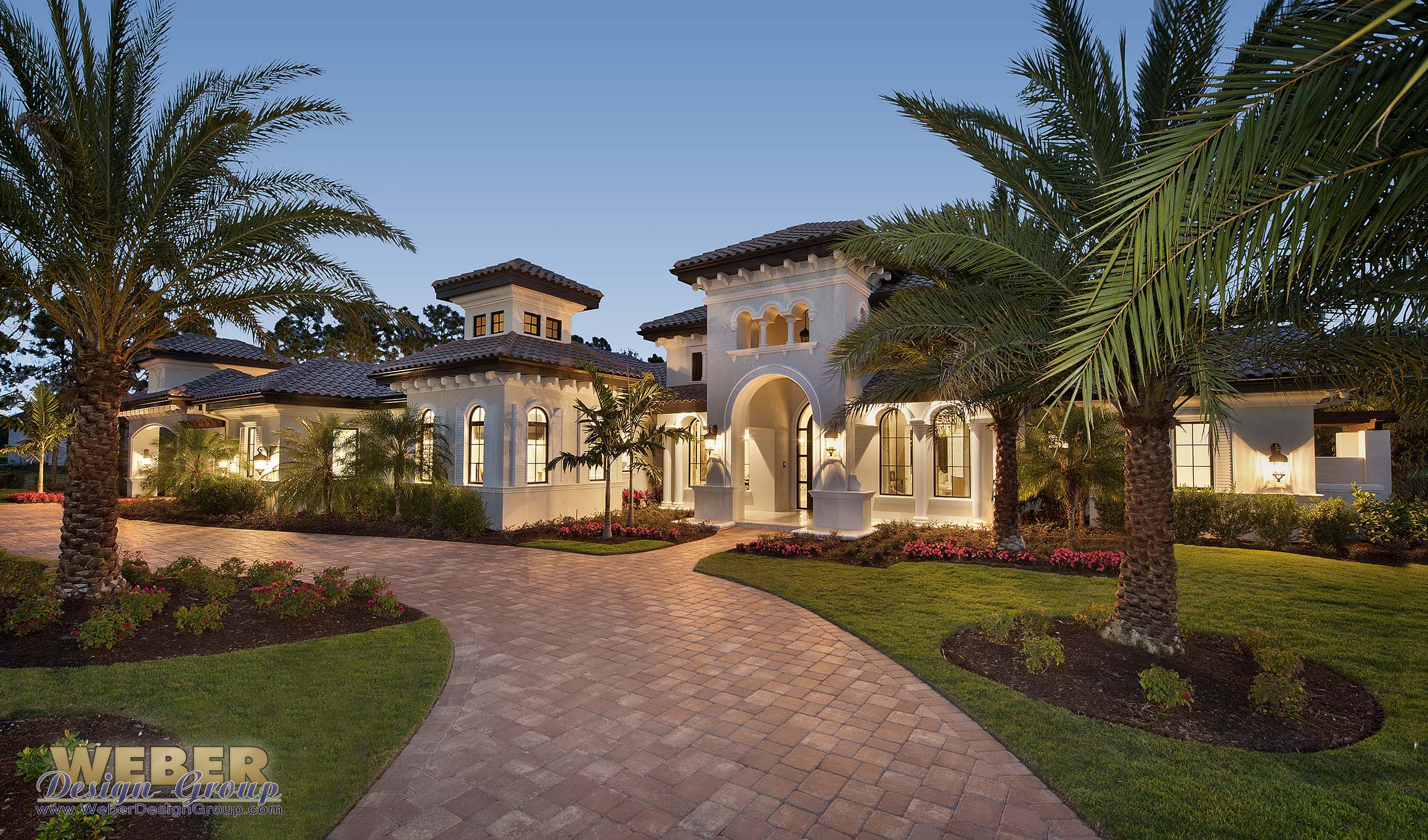 Mediterranean estate home mezzano house plan weber for Mediterranean style mansion