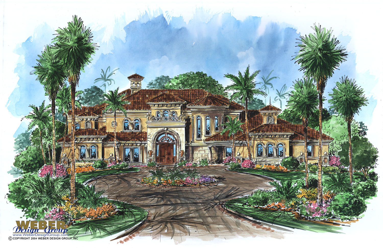 mediterranean house plan vasari house plan weber