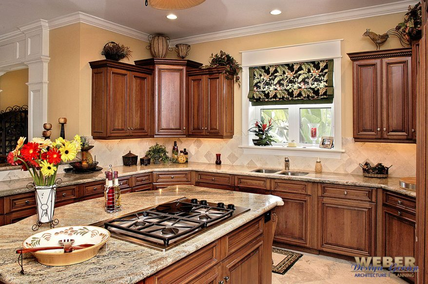 kitchen in ashbrook home plan